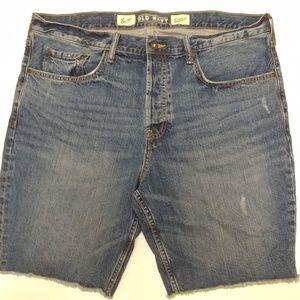 Old Navy Slim cut off jean shorts